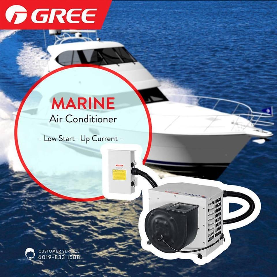 MARINE Air Conditioner Sea Water